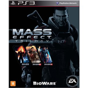 Foto Jogo Mass Effect Trilogy PlayStation 3 EA