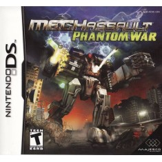 Foto Jogo Mech Assault Phantom War Majesco Entertainment Nintendo DS