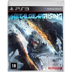 Foto Jogo Metal Gear Rising: Revengeance PlayStation 3 Konami