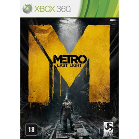 Foto Jogo Metro: Last Light Limited Edition Xbox 360 THQ
