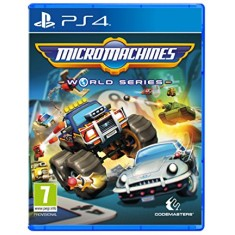 Foto Jogo Micro Machines World Series PS4 Codemasters