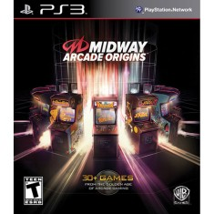 Foto Jogo Midway Arcade Origins PlayStation 3 Warner Bros