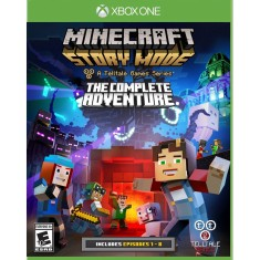Foto Jogo Minecraft Story Mode Complete Adventure 1-8 Xbox One Telltale