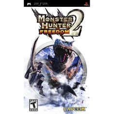 Foto Jogo Monster Hunter Freedom 2 Capcom PlayStation Portátil