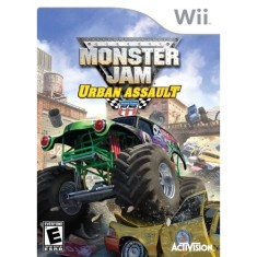 Foto Jogo Monster Jam 2 Urban Assault Wii Activision