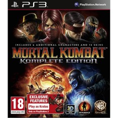 Foto Jogo Mortal Kombat Komplete Edition PlayStation 3 Warner Bros
