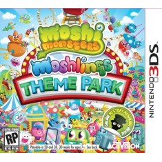 Foto Jogo Moshi Monsters Moshlings Theme Park Activision Nintendo 3DS