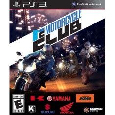 Foto Jogo Motorcycle Club PlayStation 3 Maximum Games