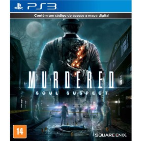 Foto Jogo Murdered: Soul Suspect PlayStation 3 Square Enix
