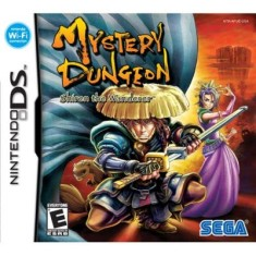 Foto Jogo Mystery Dungeon Shiren The Wanderer Sega Nintendo DS
