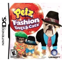 Foto Jogo Petz Fashion Dogz And Catz Bil Ubisoft Nintendo DS