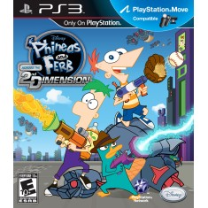 Foto Jogo Phineas e Ferb: Across the Second Dimension PlayStation 3 Disney