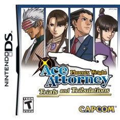 Foto Jogo Phoenix Wright: Ace Attorney Trials and Tribulations Capcom Nintendo DS