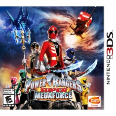 Foto Jogo Power Rangers Super MegaForce Bandai Namco Nintendo 3DS