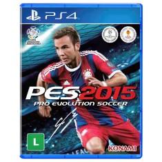 Foto Jogo Pro Evolution Soccer 2015 PS4 Konami