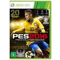 Foto Jogo Pro Evolution Soccer 2016 Xbox 360 Konami
