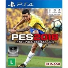 Foto Jogo Pro Evolution Soccer 2018 PS4 Konami