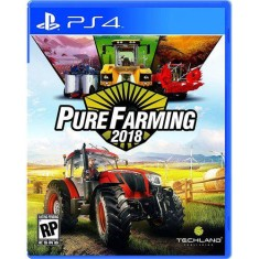 Foto Jogo Pure Farming 2018 PS4 Techland