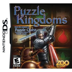 Foto Jogo Puzzle Kingdoms Zoo Games Nintendo DS