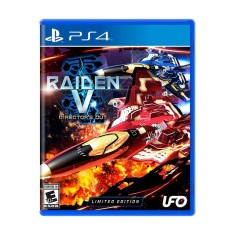 Foto Jogo Raiden V Director's Cut PS4 Ufo Games