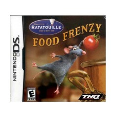 Foto Jogo Ratatouille Food Frenzy THQ Nintendo DS