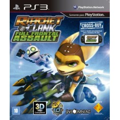 Foto Jogo Ratchet & Clank: Full Frontal Assault PlayStation 3 Sony