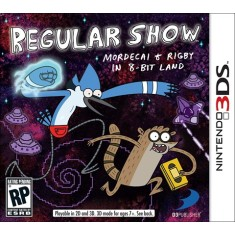 Foto Jogo Regular Show: Mordecai & Rigby in a 8-bit Land D3 Publisher Nintendo 3DS