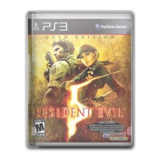 Foto Jogo Resident Evil 5: Gold Edition PlayStation 3 Capcom