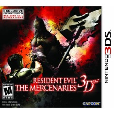 Foto Jogo Resident Evil The Mercenaries 3D Capcom Nintendo 3DS