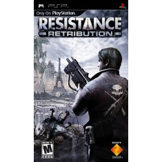 Foto Jogo Resistance Retribution Sony PlayStation Portátil