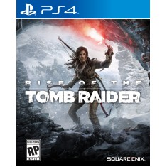 Foto Jogo Rise of the Tomb Raider PS4 Square Enix