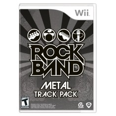 Foto Jogo Rock Band: Metal Track Pack Wii EA