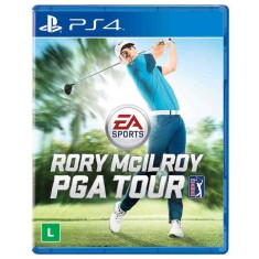 Foto Jogo Rory McIlroy Golf PGA Tour PS4 EA