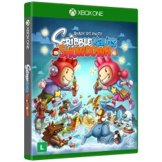 Foto Jogo Scribblenauts Showdown Xbox One Warner Bros