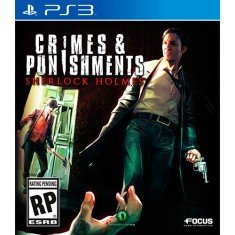 Foto Jogo Sherlock Holmes: Crimes and Punishment PlayStation 3 Focus