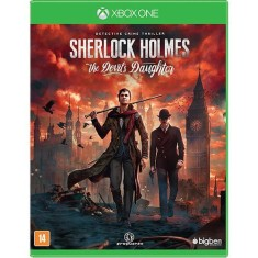 Foto Jogo Sherlock Holmes The Devil's Daughter Xbox One Big Ben