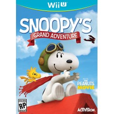 Foto Jogo Snoopy's Grand Adventure Wii U Activision