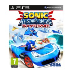 Foto Jogo Sonic & All Star Racing Transformed PlayStation 3 Sega