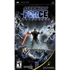 Foto Jogo Star Wars The Force Unleashed LucasArts PlayStation Portátil