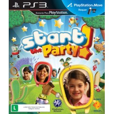 Foto Jogo Start The Party! PlayStation 3 Sony