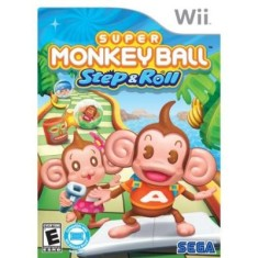 Foto Jogo Super Monkey Ball Step & Roll Wii Sega