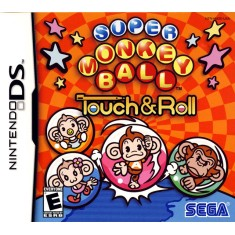 Foto Jogo Super Monkey Ball Touch & Roll Sega Nintendo DS