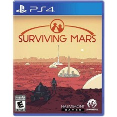 Foto Jogo Surviving Mars PS4 Paradox Interactive