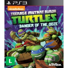 Foto Jogo Tartarugas Ninjas: Danger of the Ooze PlayStation 3 Activision