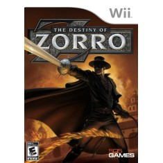 Foto Jogo The Destiny of Zorro Wii 505 Games