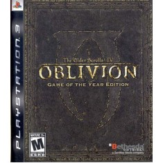 Foto Jogo The Elder Scrolls IV: Oblivion PlayStation 3 Bethesda