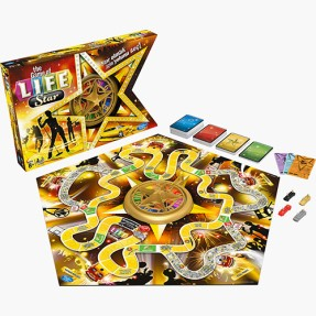 Foto Jogo The Game of Life Fama Hasbro