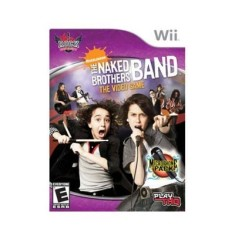 Foto Jogo The Naked Brothers Band Wii THQ