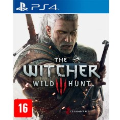 Foto Jogo The Witcher III Wild hunt PS4 CD Projekt Red