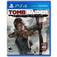 Foto Jogo Tomb Raider Definitive Edition PS4 Square Enix